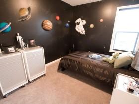Детская комната в виде космоса