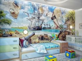 Дизайнерская детская комната