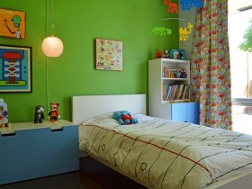Children's room in the style of pop art