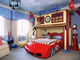 Creative children's bed