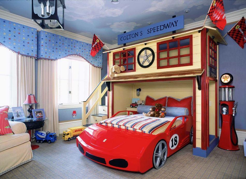 Дизайн кроватки для мальчиков