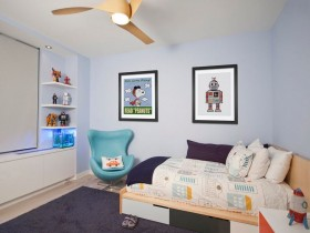 Tiny children's room for boy