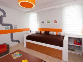 Modern child's room design for boy