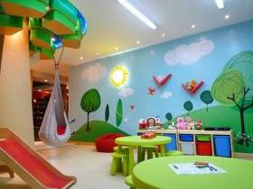 Creative children's room for boy