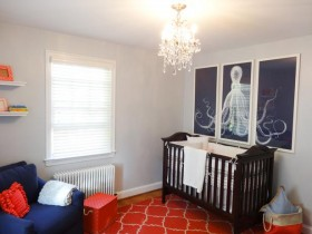 Proper planning in the nursery for a newborn