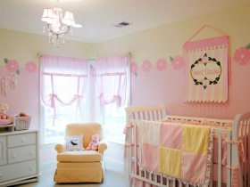 Nice colors in the interior a child's room