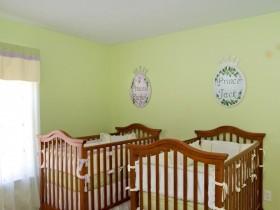 Nursery for newborn twins