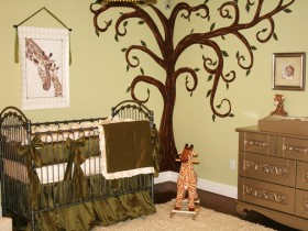 Designer nursery for a newborn