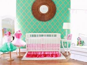 Baby room design for little girl