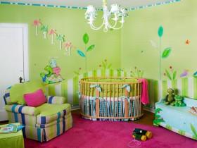 Bright children's room