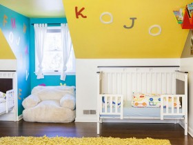 Compact baby room for newborn