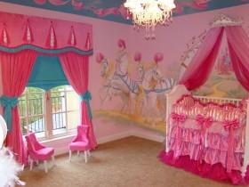 Nursery for newborn girl