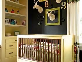Nursery for newborn baby boy