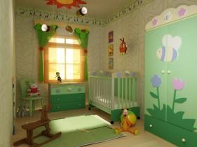 Beautiful design the nursery for the newborn