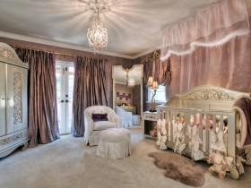 Luxury baby room design for newborn