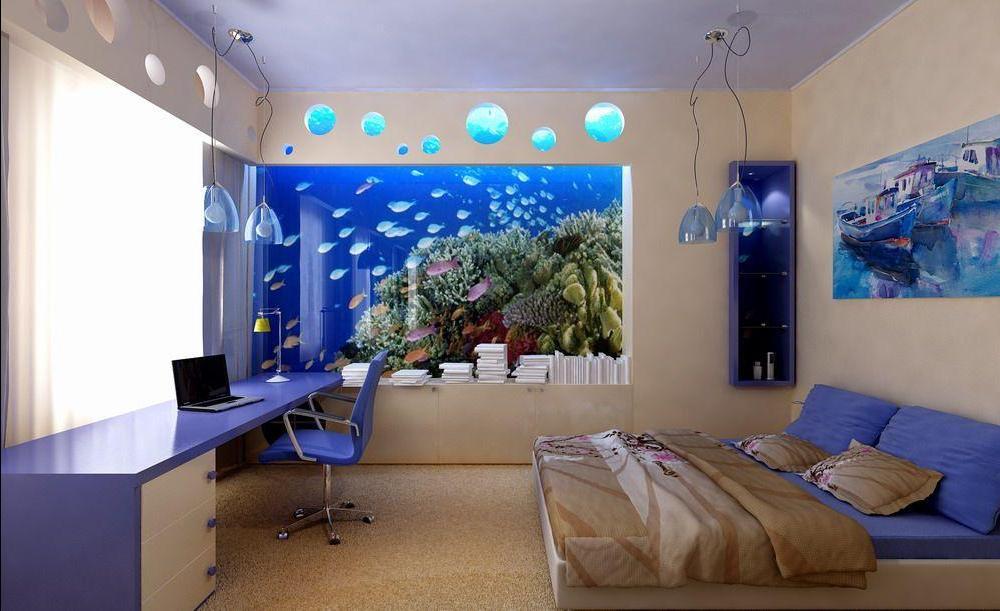 Дизайн комнаты подростка собоями