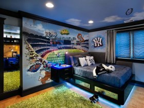 Modern children's room for boy (another type)