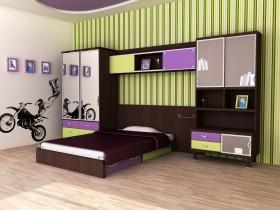 Мотокрос в дизайне детской комнаты