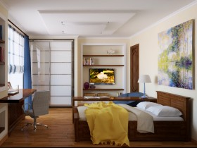 Небольшая детская комната для подростка