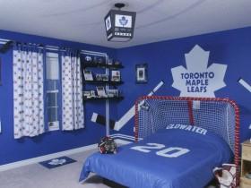Детская комната фаната хокея