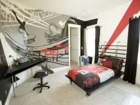 Креативный дизайн детской комнаты для мальчика-подростка