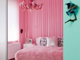 Гламурная детская комната для девочки подростка