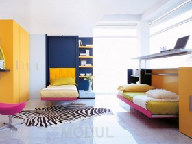 Modern children's room for a teenager