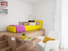 Функциональная детская комната для девочки