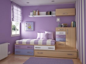 Stylish and functional children's room