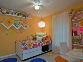 "Children room style ""hippie"""