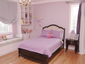 Beautiful children's room for girl