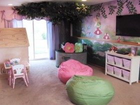 Designer children's room for girl