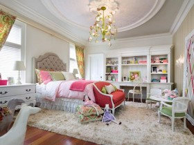 Luxury children room for girls