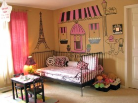 Baby room design for girl
