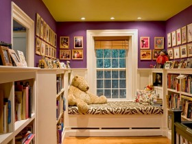 Compact baby room for girl