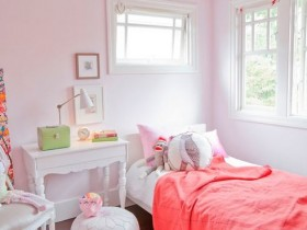 Children's room with elements of Scandinavian style