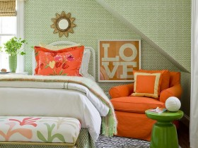 Children's room design for girls