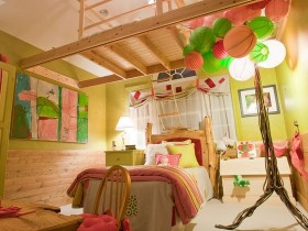 Huge children's room for girl