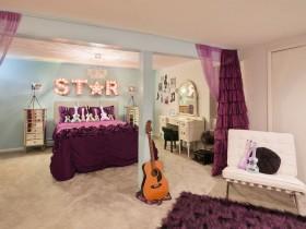 Детская комната для будущей певицы