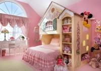 Красивая кровать для маленькой принцессы