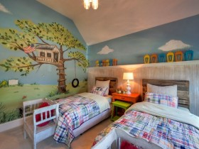 Children's room in country style