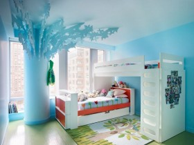 Bright room for two children