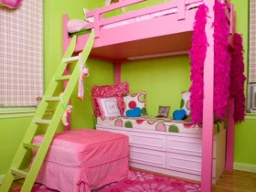Beautiful children's room for girls