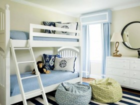 Beautiful children room for two children