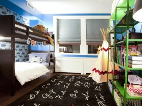 Baby room design for two kids