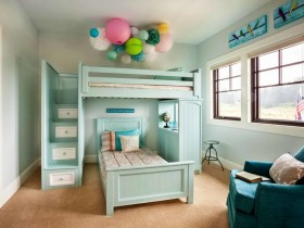 The design of children's beds for two children