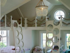 Creative children's room decoration