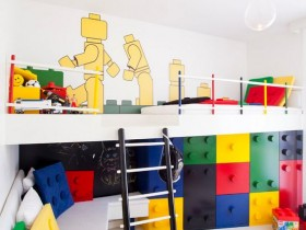 """LEGO"" in the interior a child"
