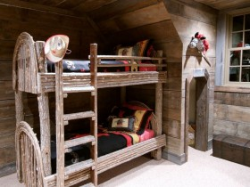 "Bunk bed for kids ""under the tree"""
