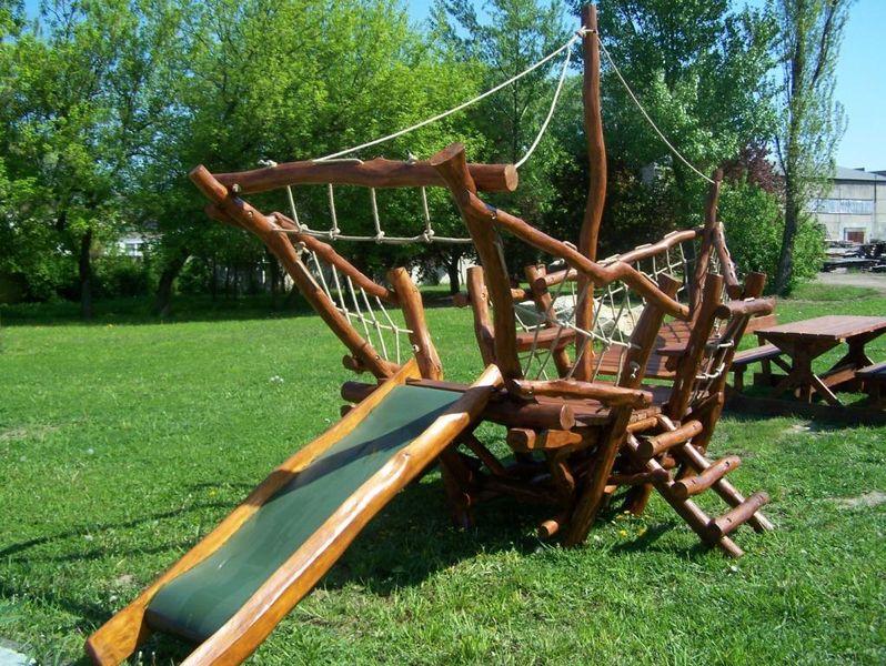 Детские площадки из дерева своими руками фото схемы 935
